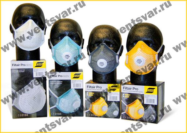 Респираторные одноразовые маски ESAB Filtair Pro