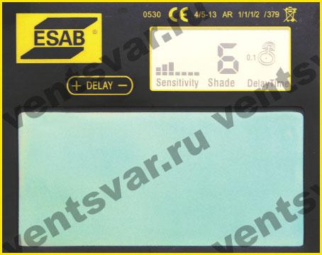 Цифровой дисплей сварочной маски ESAB Aristo Tech