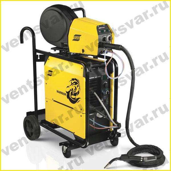 Источники питания WARRIOR™ 400i CC/CV с блоком охлаждения и механизмом подачи проволоки Warrior Feed 304