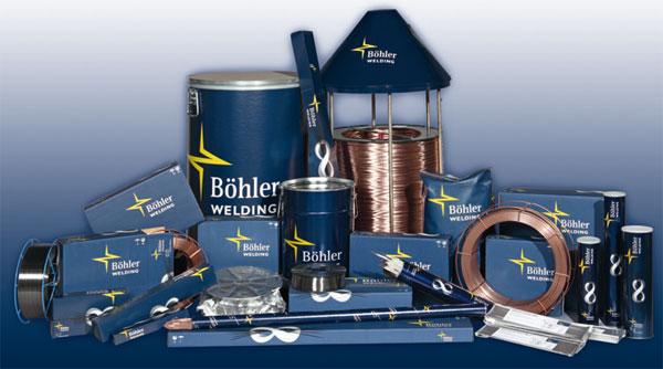 Сварочная проволока Бёллер, сварочные электроды Boehler